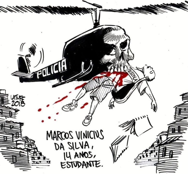 Charge do dia, por Carlos Latuff