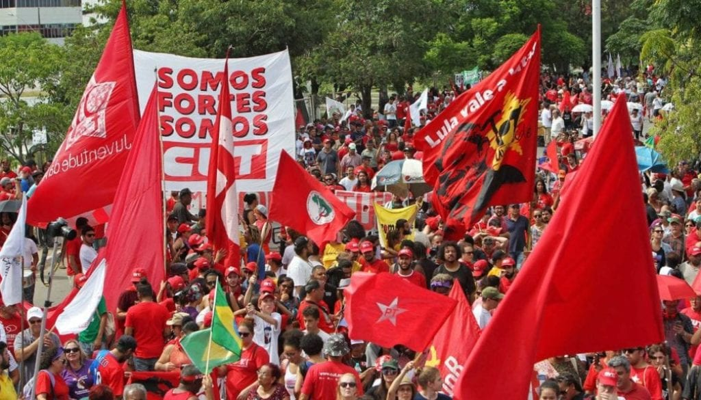 Support protests for Lula as Brazilian appeal court hearing on Lula's corruption verdict