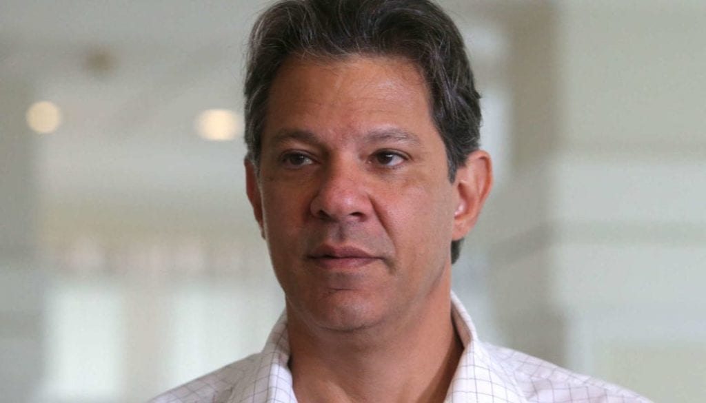 Haddad, presidential candidate of Brazil's leftist Workers' Party (PT), attends PT's national executive meeting, in Sao Paulo
