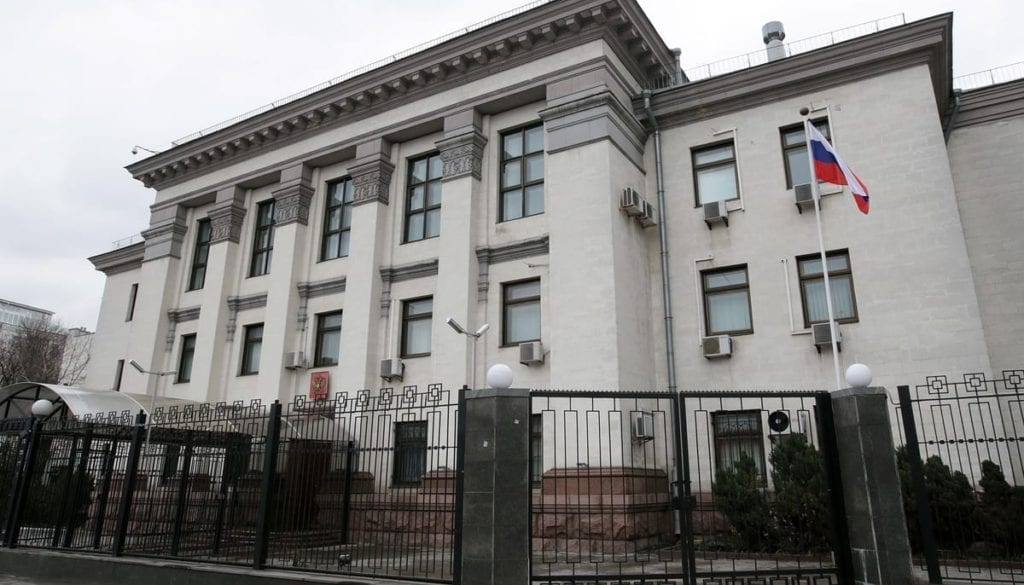 russian-embassy-in-kiev-issues-note-of-protest-over-damage-to-diplomats-property