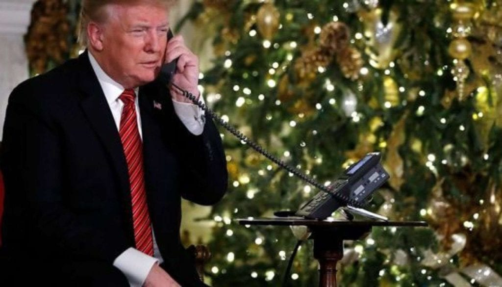Santa-Call-Trump-AP