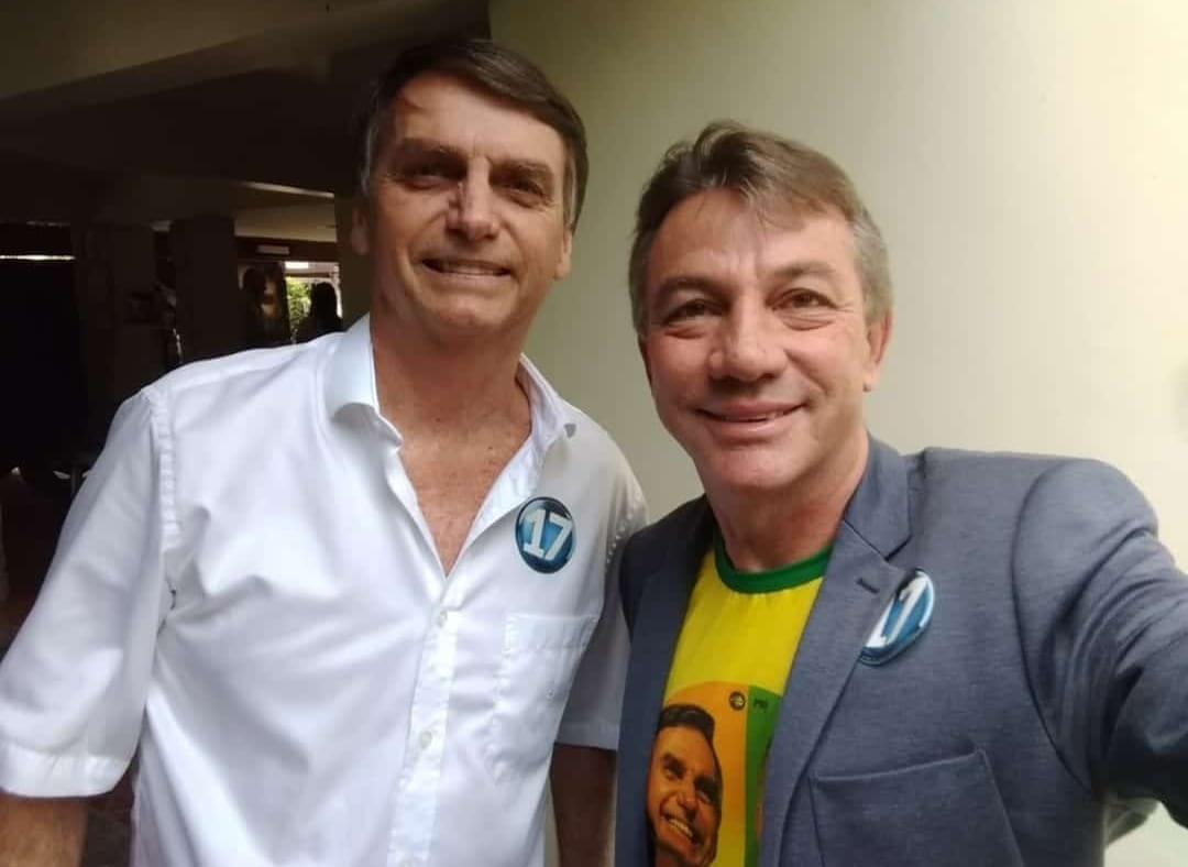 Bolsonaro e Tony Cash
