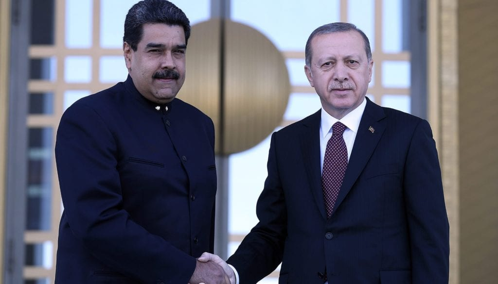 Erdogan - Maduro meeting in Ankara