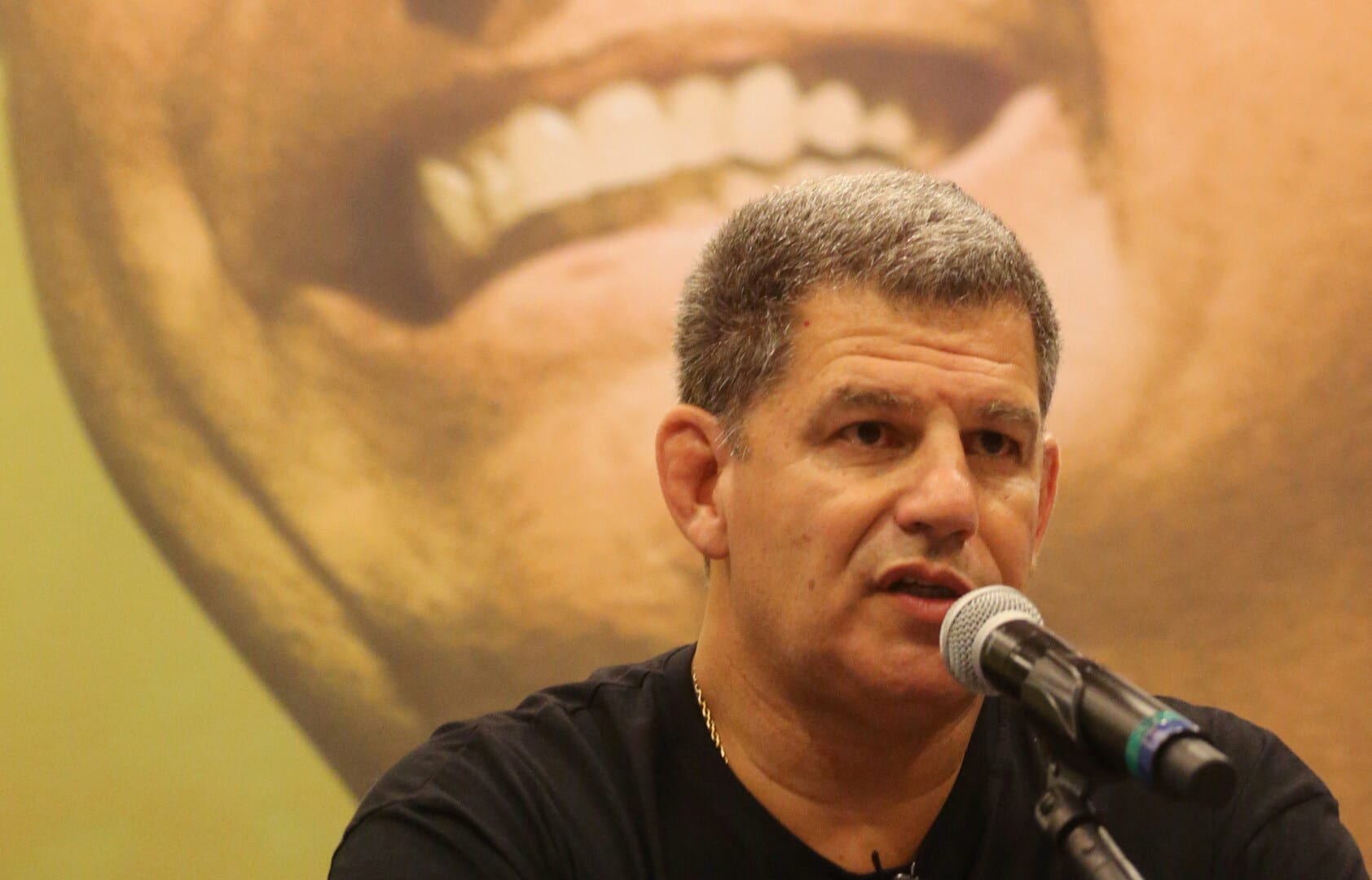 Bebianno, President of the Social Liberal Party talks about Jair Bolsonaro, far-right lawmaker and presidential candidate during a news conference in Rio de Janeiro