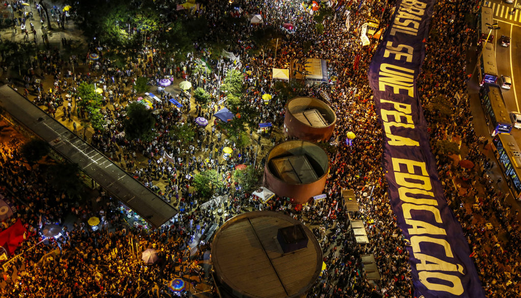 BRASIL-EDUCATION-BUDGET-CUTS-PROTEST
