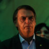 Federal deputy Jair Bolsonaro reacts during the national convention of the Party for Socialism and Liberation (PSL) where he is to be formalised as a candidate for the Presidency of the Republic, in Rio de Janeiro