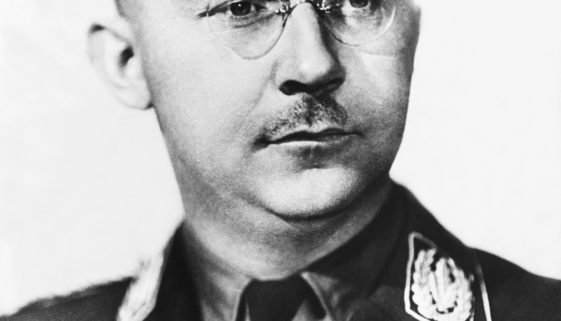 Himmler In Germany On 1945 During The Forties