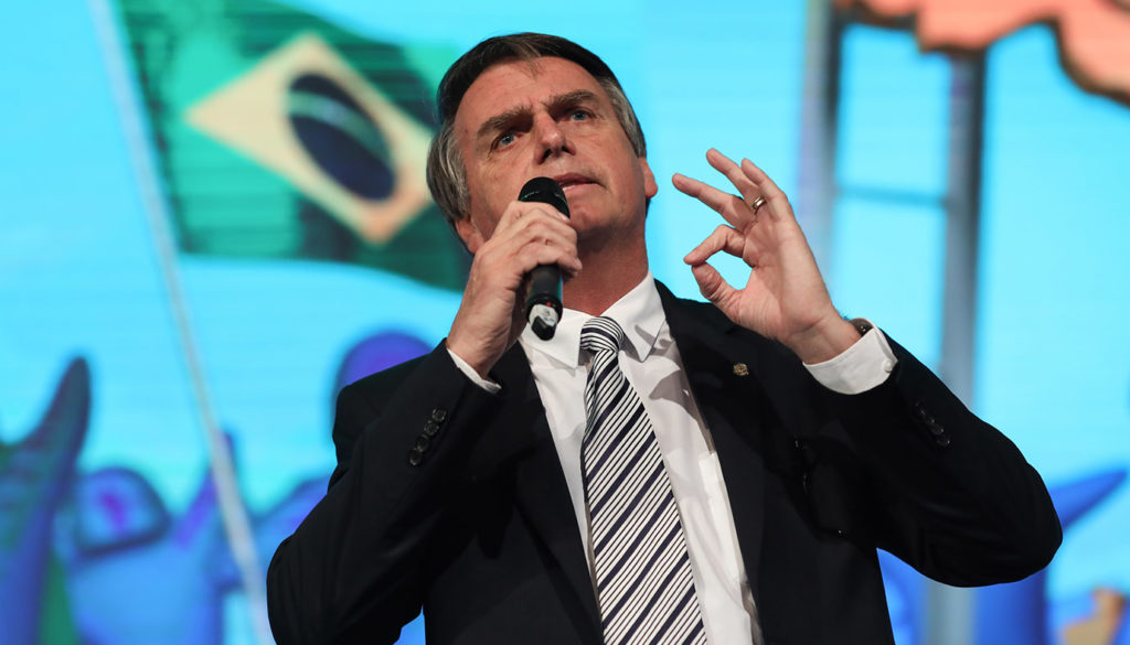 Brazilian Presidential Candidates Speak At A National Confederation Of Municipalities (CNM) Event