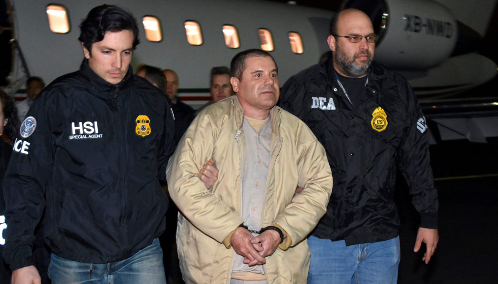 Mexico U.S. Drug Lord, Ronkonkoma, USA - 19 Jan 2017