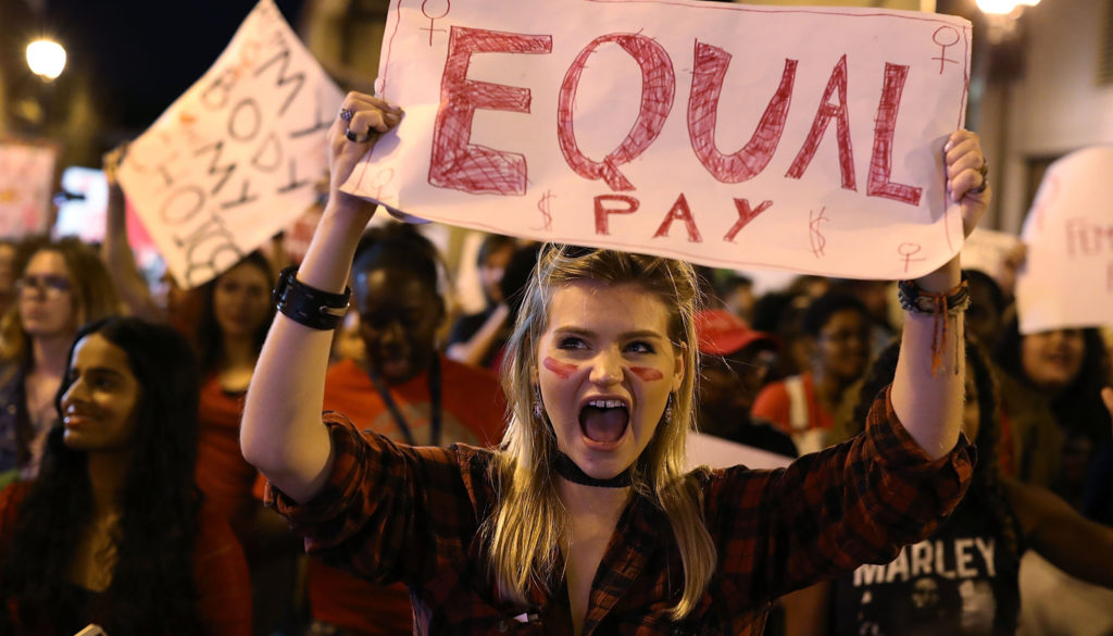 Image: International Women's Day Marked With Rallies And Protests Across The Country
