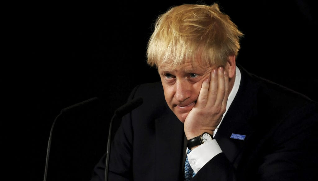 Boris Johnson Announces His Domestic Priorities In Manchester Speech