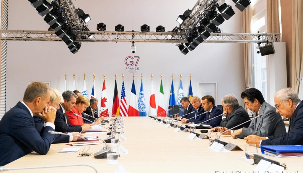 Reunião dos líderes do G7 debate medidas para conter degradaç