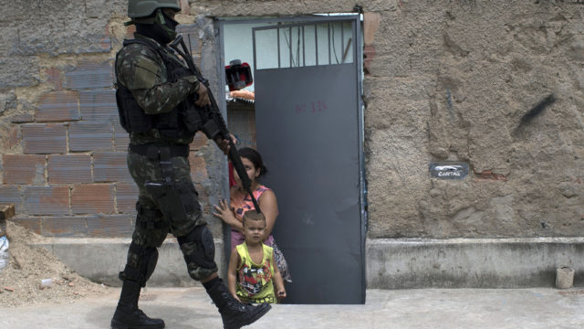 BRAZIL-VIOLENCE-FAVELA-SECURITY