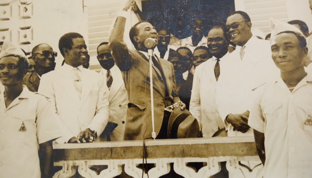 Sylvanus-Olympio-first-President-of-Togo-1960.-Part-of-the-exhibition-LOMÉ
