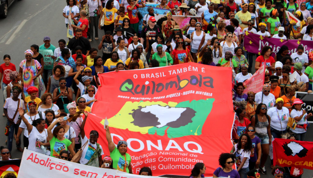 Marcha das mulheres quilombolas
