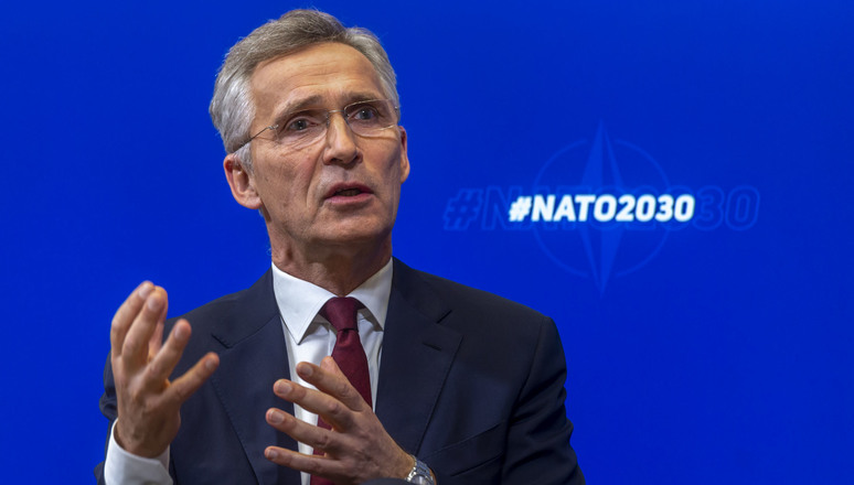 NATO Secretary General Jens Stoltenberg launched his outline for NATO 2030 in an online conversation with the Atlantic Council and the German Marshall Fund of the United States